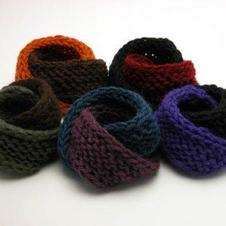 Wool Mobius Bracelets